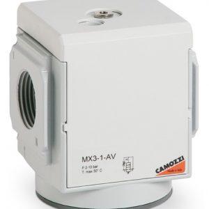 """Клапаны """"мягкого"""" пуска Camozzi. Серия MX MX3-1-AV"""